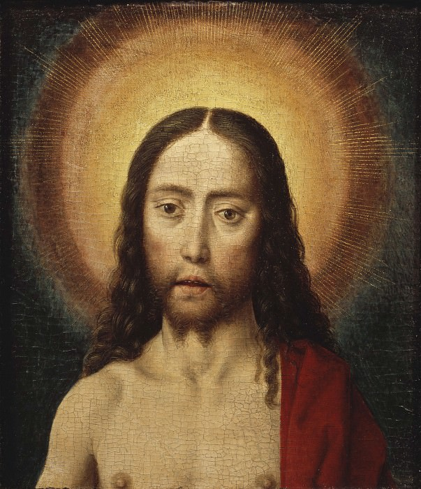 Head of Christ. Dieric Bouts