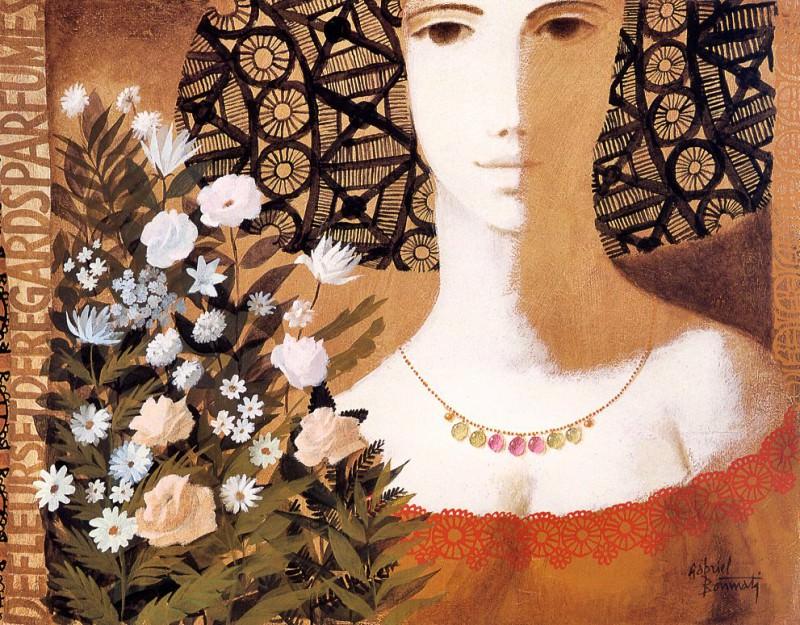 Gabriel Bonmati - De fleurs et de regards parfumes, De. Габриэль Бонмати