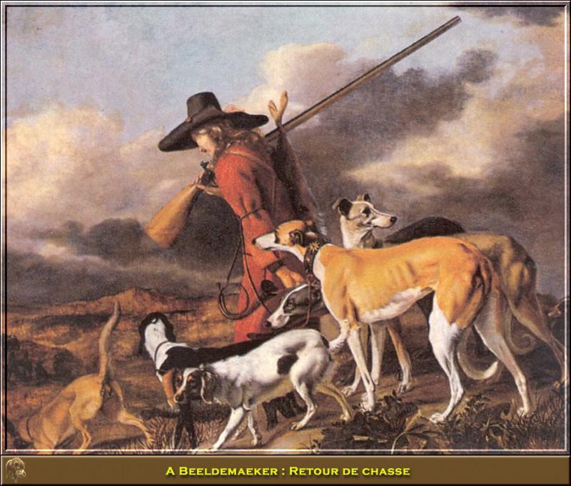 Retour de chasse. Adriaen Cornelisz Beeldemaeker