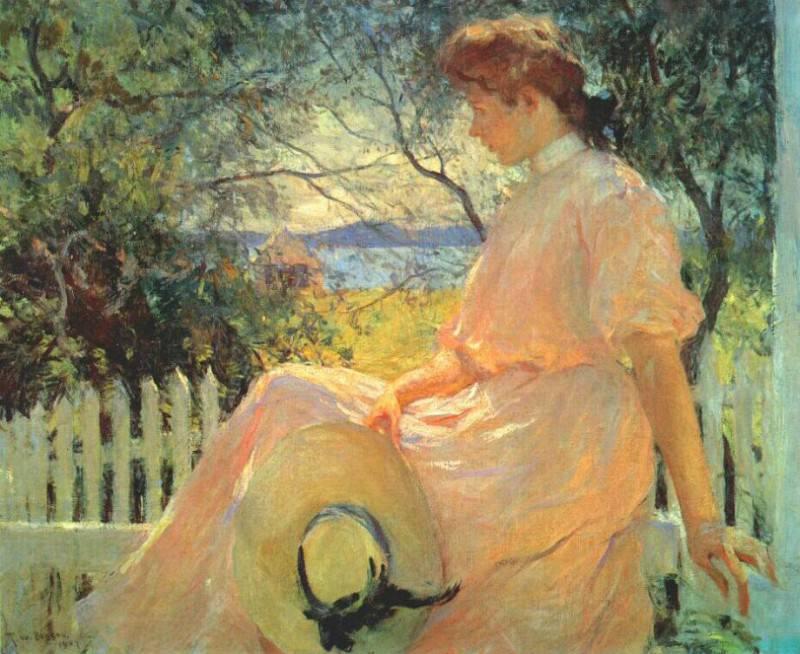 Элинор, 1907. Бенсон Франк Уэстон