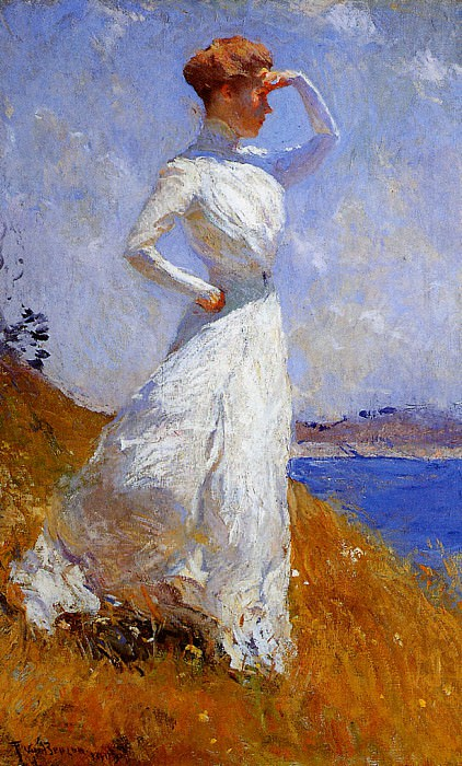 Sunlight. Frank Weston Benson