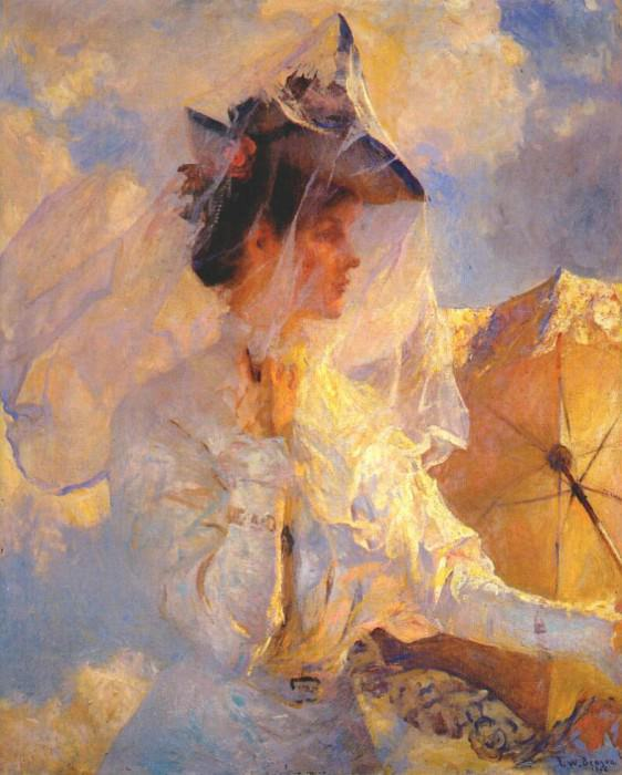 against the sky 1906. Frank Weston Benson