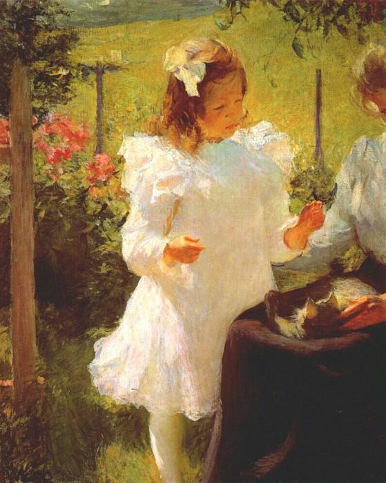 sunlight 1902. Frank Weston Benson