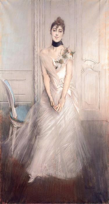 A Portrait of Emiliana Concha de Ossa. Giovanni Boldini