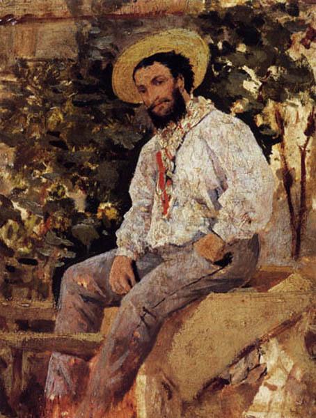 Diego Martielli in Castiglioncello. Giovanni Boldini