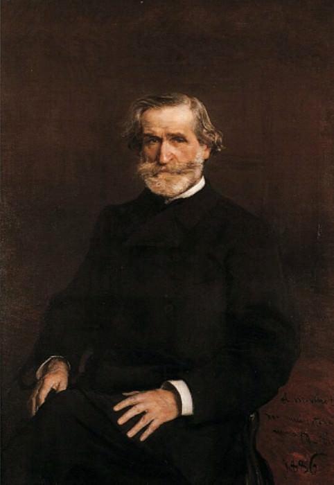 Ritratto di Giuseppe Verdi Seduto 1886. Giovanni Boldini