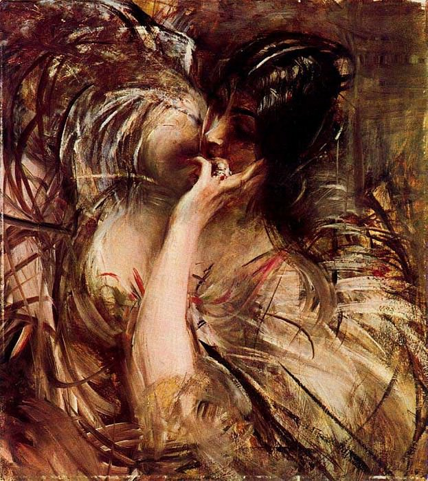 The Bouse of Voile. Giovanni Boldini