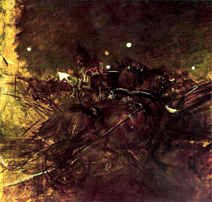 Night on Montmartre. Giovanni Boldini