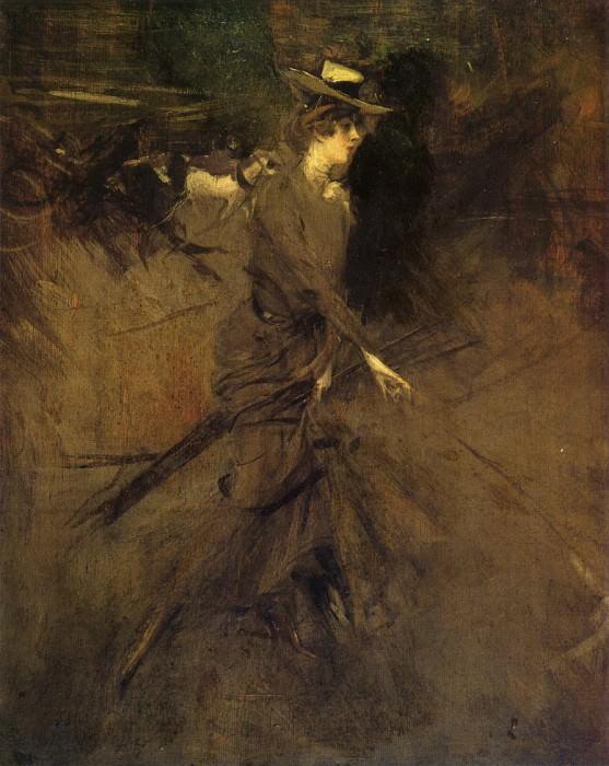 На прогулке, 1904, 05. Джованни Больдини