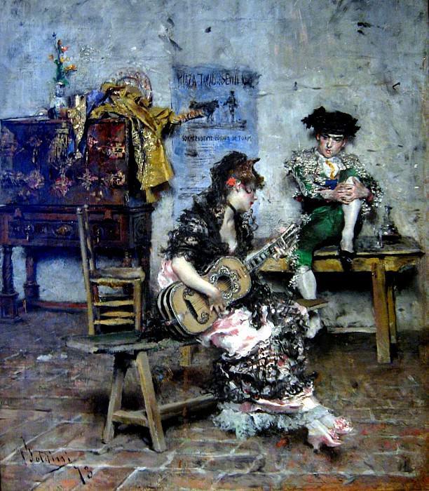 Серенада, 1873. Джованни Больдини