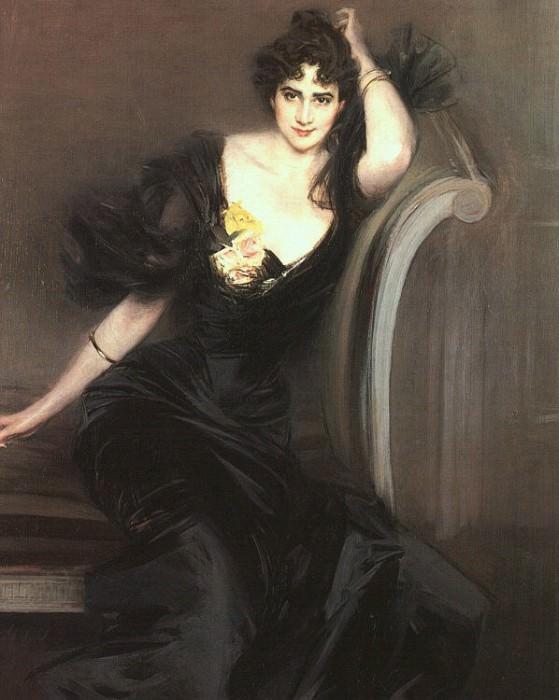 Lady Colin Campbell 1897. Giovanni Boldini