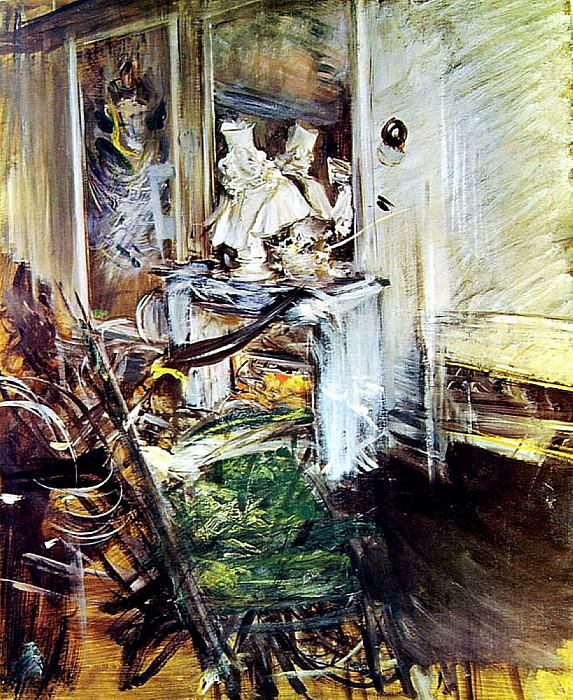 Room of the Painter. Giovanni Boldini