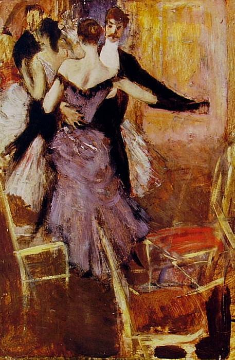 Ballerina in Mauve. Giovanni Boldini