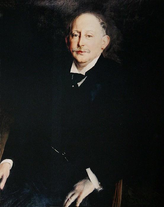 Portrait of Alfred Beit 1906. Giovanni Boldini