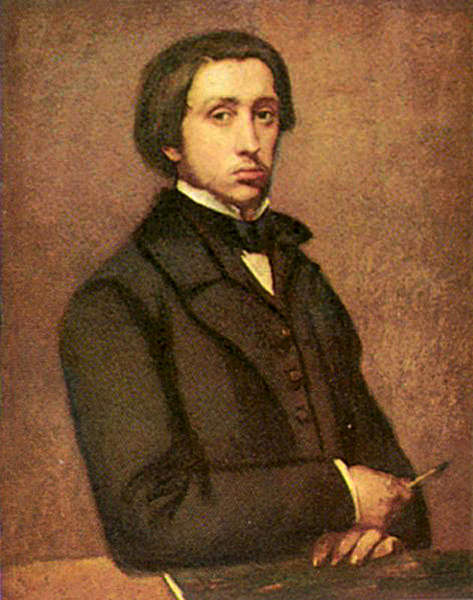 Portret of Edgar Germain Hilaire Degas. Giovanni Boldini