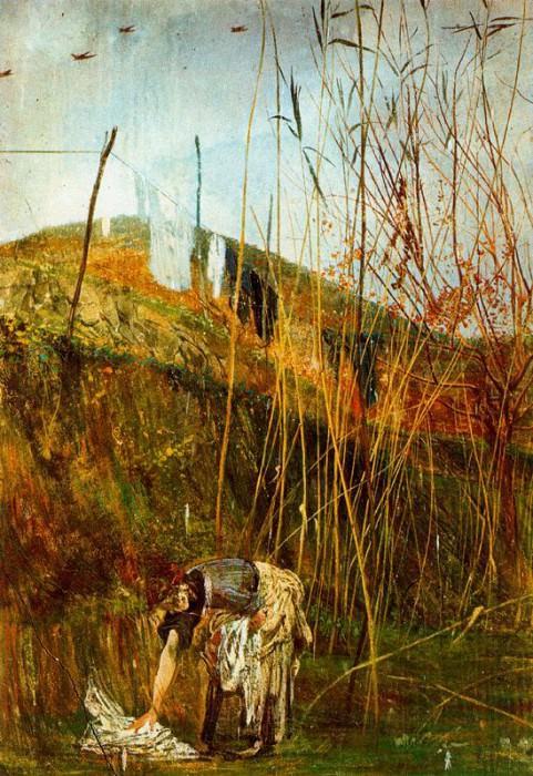 Настенное изображение Фальконьеры. Джованни Больдини