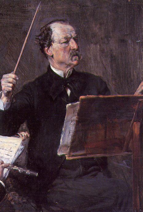 Portrait of Emanuele Muzio 1892. Giovanni Boldini