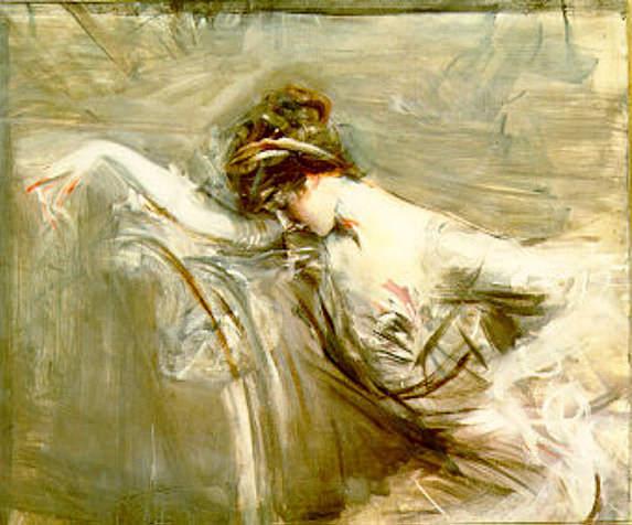 Mlle Laure 1910. Giovanni Boldini