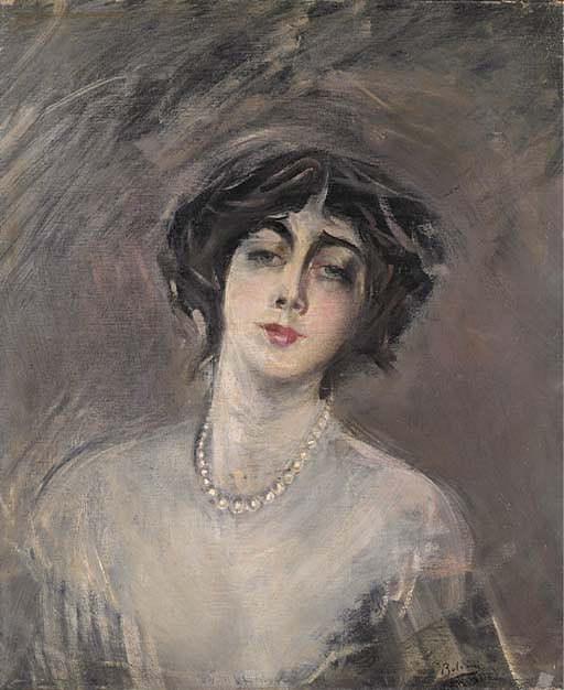 Donna Franca Florio 1921. Giovanni Boldini