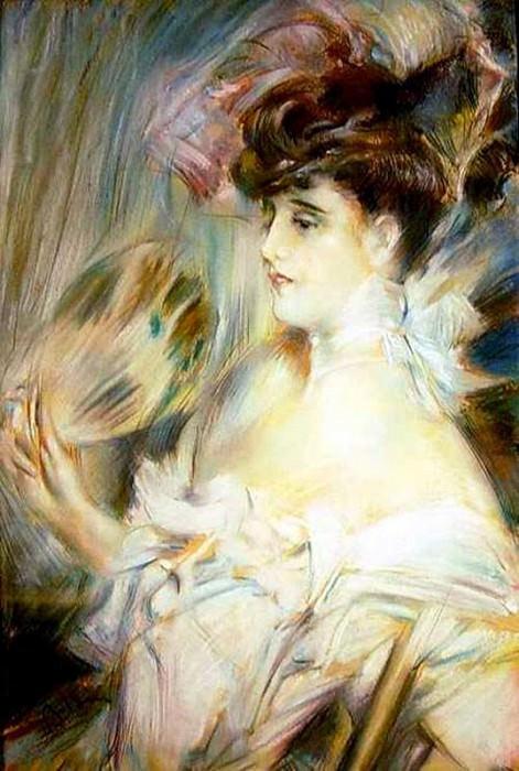 Madame Marie Louise Herouet. Giovanni Boldini