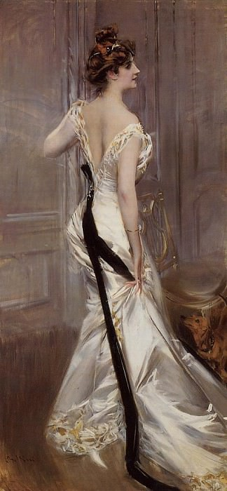 The Black Sash. Giovanni Boldini