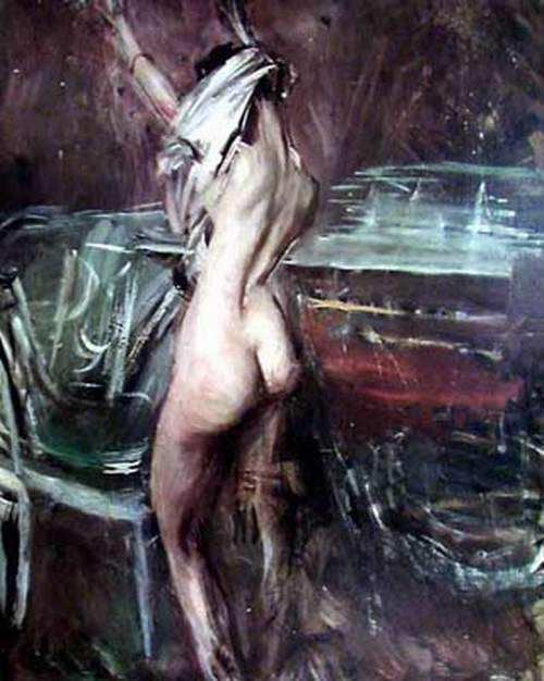 Young Dark Lady. Giovanni Boldini