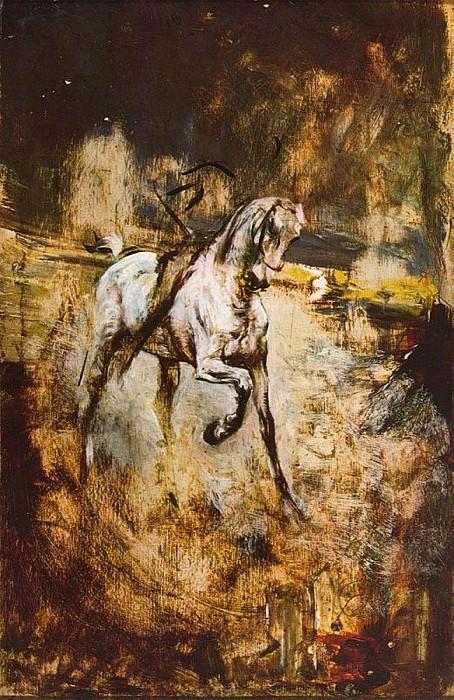 Белая лошадь. Джованни Больдини