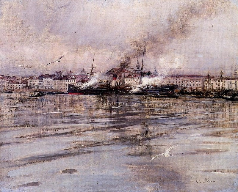 View of Venice. Giovanni Boldini