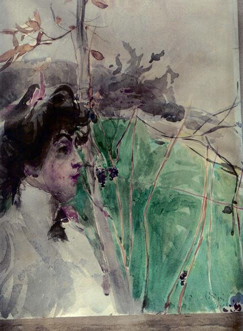Женщина в профиль. Джованни Больдини