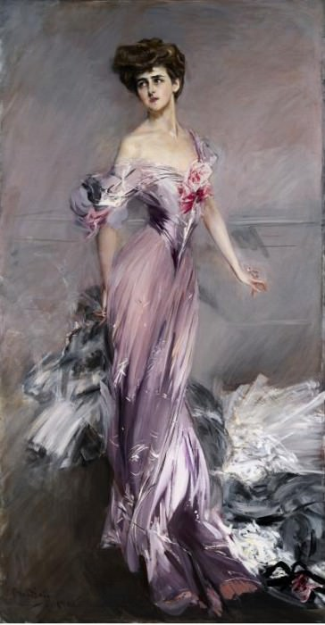 Portrait of Mrs. Howard Johnston. Giovanni Boldini