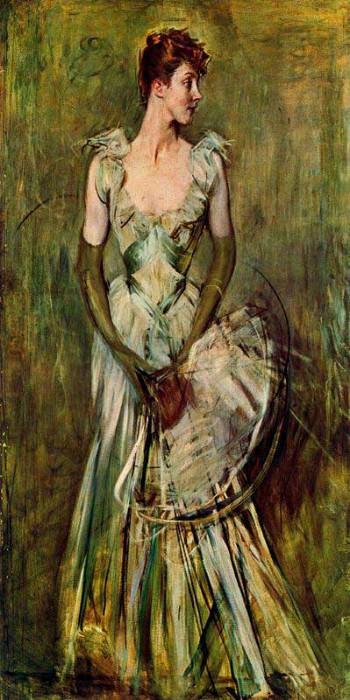 Ritrato do la Contessa de Leusse. Giovanni Boldini