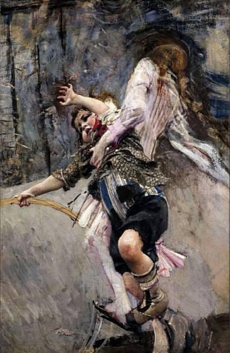 Il Bimbo col Cerchio. Giovanni Boldini