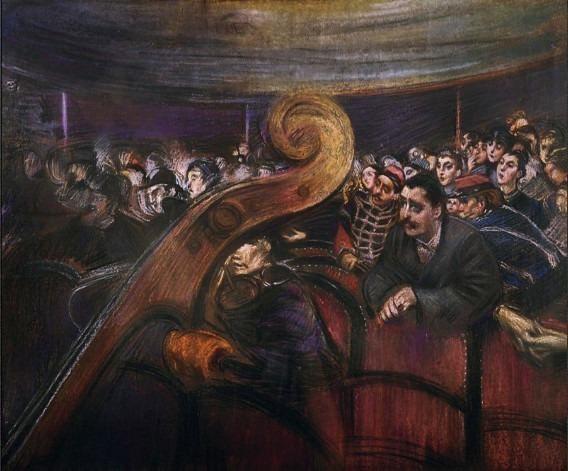 A Teatro. Giovanni Boldini