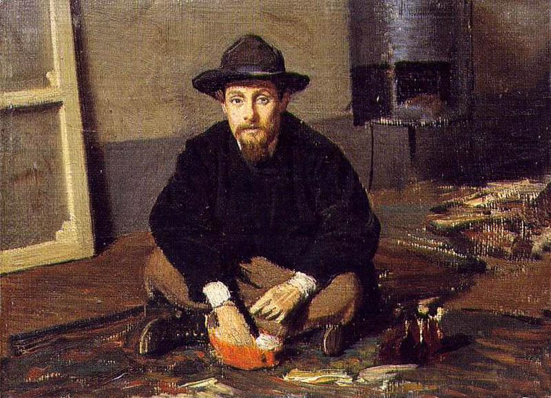 Diego Martelli 1865. Giovanni Boldini