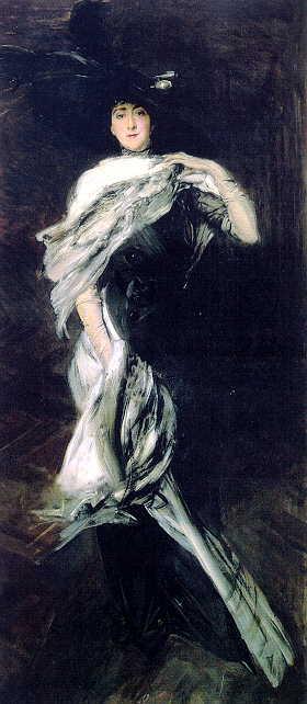 Эдит Стейвесант Дрессер Вандербилт, 1900. Джованни Больдини