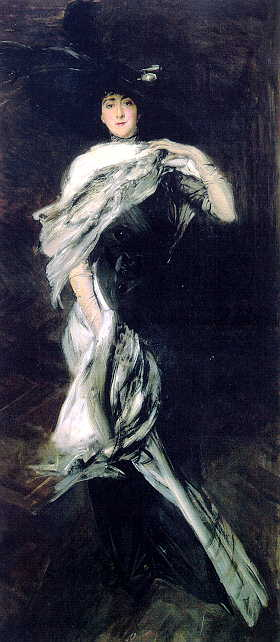 Edith Stuyvesant Dresser Vanderbilt 1900. Giovanni Boldini