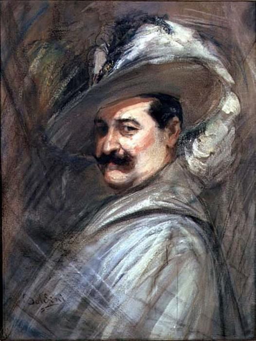 Costantino in the Role of Ernani 1910. Giovanni Boldini
