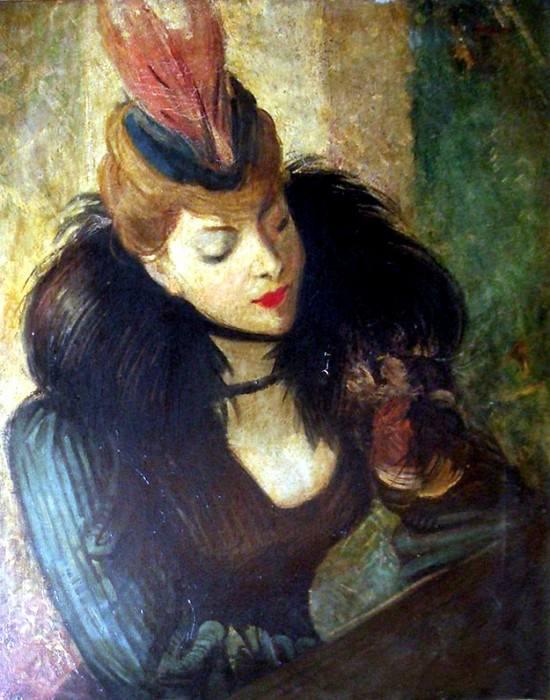 La Pluma Roja. Giovanni Boldini