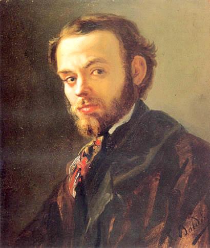 Portrait of Vincenzo Cabianca. Giovanni Boldini