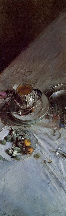 Corner of Painter's Table 1890. Giovanni Boldini