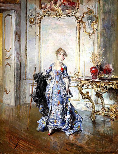 L'Ultimo Sguardo allo Specchio. Giovanni Boldini