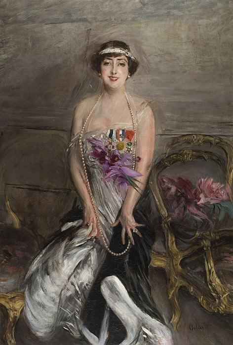 Madame Michelham 1913. Giovanni Boldini