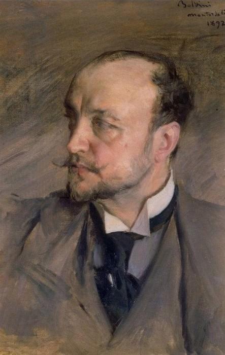 Автопортрет, 1892. Джованни Больдини