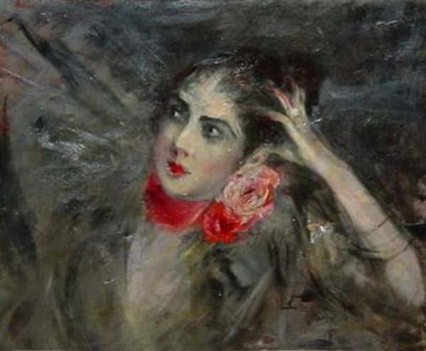 Princes Radziwill with Red Rbbon 1904. Giovanni Boldini