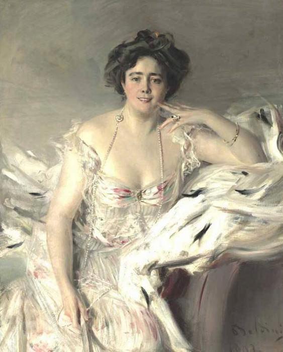 Portrait of Lady Nanne Schrader 1903. Giovanni Boldini