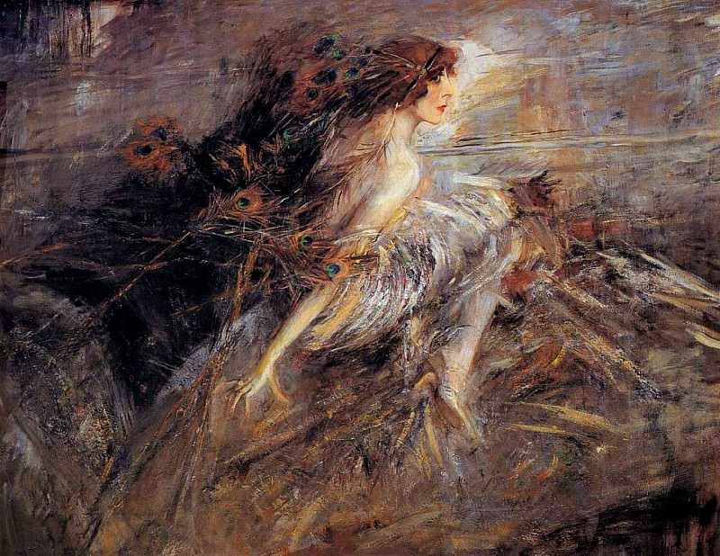 Portrait of the Marquise 1914. Giovanni Boldini