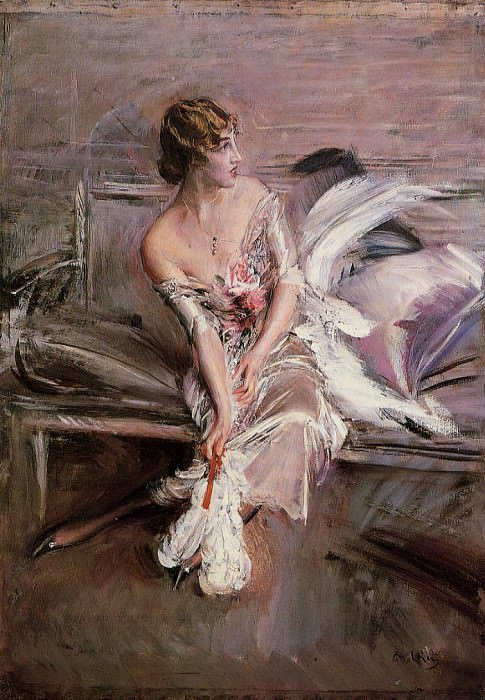 Portrait of Gladys Deacon 1905 08. Giovanni Boldini
