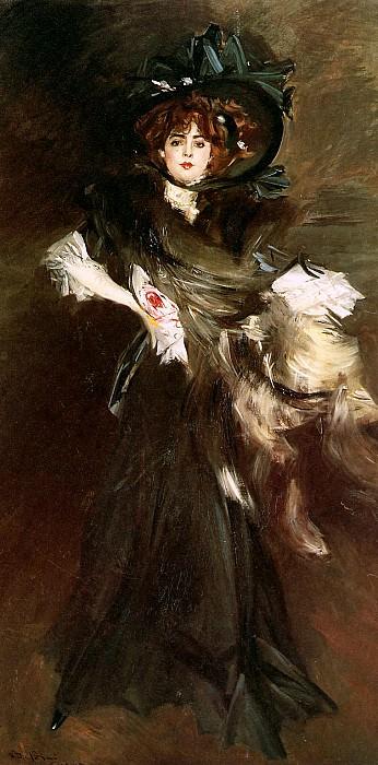 Miss Lantelme. Giovanni Boldini