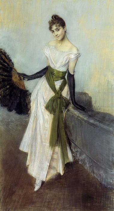 Portrait of Signorina Concha de Ossa. Giovanni Boldini