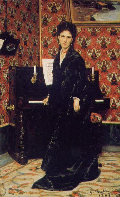 Ritratto Mary Donegan 1869. Giovanni Boldini